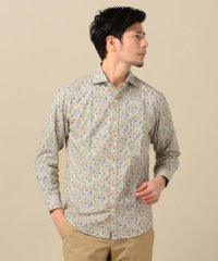 SC: リバティプリント セミワイドカラー シャツ