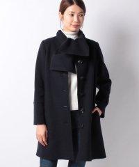 【特別提供品】ストール付きリバー仕立てコート