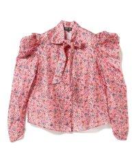 sister jane / Floral Bow Shirt