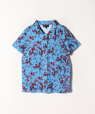JEG8 CHEMISE フラワープリントオープンカラーシャツ