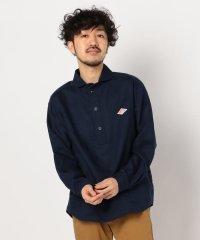 【DANTON/ダントン】丸えりリネンシャツ #JD-3568 KLS