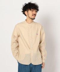 【DANTON/ダントン】リネンバンドカラーシャツ #JD-3607 KLS