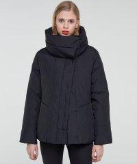 マキシカラースナップ中綿ショートジャケット