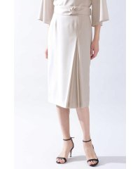◆[ウォッシャブル]《B ability》トリアセツイルセットアップスカート