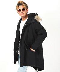 カツラギ裏ボアモッズコート/モッズコート メンズ 裏ボア N-3B コート ジャケット