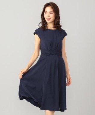 【セレモニー】アシンメトリータック ドレス