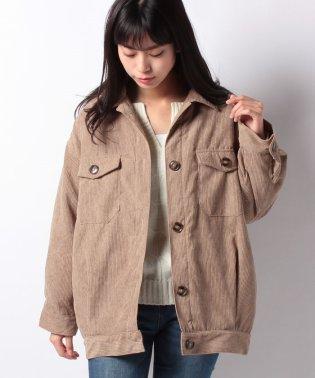 ソフトコーデュロイ中綿CPOジャケットシャツジャケットコート