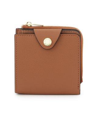 【Legato Largo(レガートラルゴ)】軽量合皮二つ折り財布