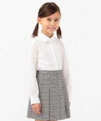 SHIPS KIDS:ピンタック ブラウス(120~130cm)【OCCASION COLLECTION】