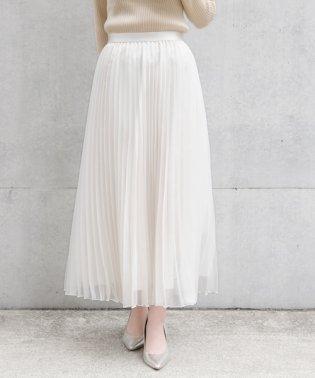 【BAILA 11月号掲載】マットオーガンジー スカート