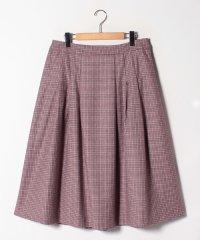 【特別提供品】チェック柄フレアースカート