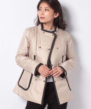 【特別提供品】デザインポケット付き中わたショートコート