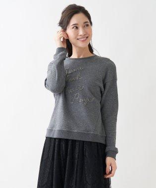 【特別提供品】ロゴ入りカジュアルニット