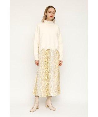 BLEEDING LEO A LINE スカート