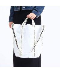 ビューティフルピープル beautiful people トートバッグ 2WAY sail cloth logo tape shoulder bag 10256