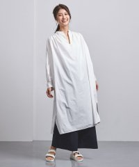 <STYLE for LIVING>キーネック バッグギャザー ワンピース†