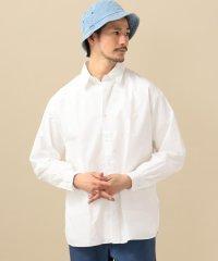 SC: バックギャザー リラックス レギュラーカラー シャツ