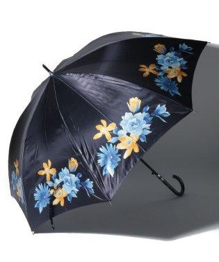 ミラショーン 婦人傘 サテンプリント花柄