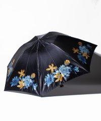 ミラショーン 婦人クイックアーチミニ傘 サテンプリント花柄