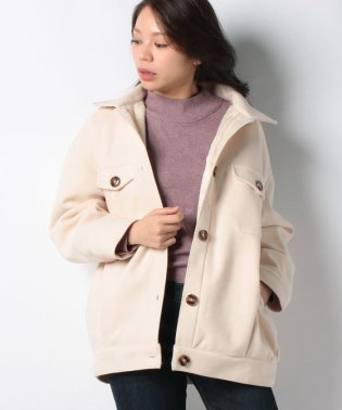 メルトン中綿CPOジャケットシャツジャケットコート