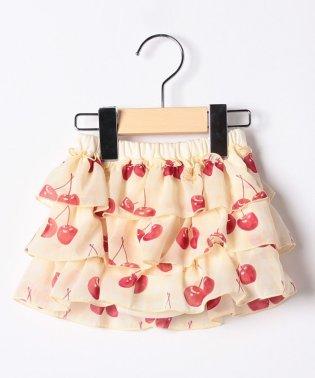 チェリーptパンツ付きスカート(80~90cm)