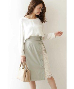 ◆アシメレースタイトスカート