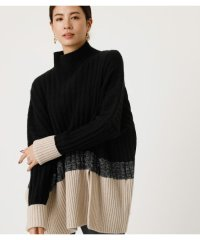 BI-COLOR LOOSE KNIT