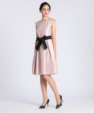 《Maglie Black》グログランリボンドレス