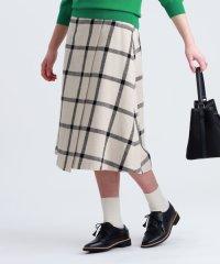 ビッグチェックツイードスカート