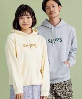 SU:【一部WEB限定カラー】SHIPS ロゴ ビッグシルエット エンブロイダリー パーカー(トレーナー) 20SS