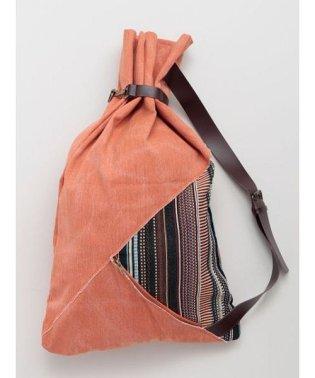 【チャイハネ】ウォッシュキャンバス旅人風ワンショルダーバッグ CMIP0106