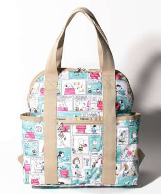 DOUBLE TROUBLE BACKPACK ピーナッツ コミック ストリップ