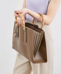 【WEB限定】【20SS新色】A4ジャバラバンブーハンドルバッグ(L)