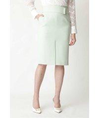 ◆メタルバーベルト付きタイトスカート