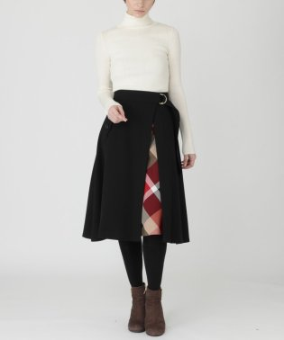 クレストブリッジチェックコージーツイル3WAYスカート