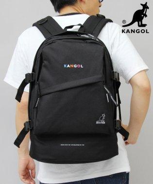 【KANGOL/カンゴール】カラフルロゴプリントバックパック/リュック