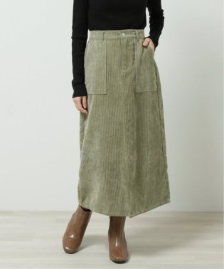 フロントスリットセミタイトスカート