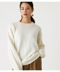 ARM CABLE KNIT TOPS