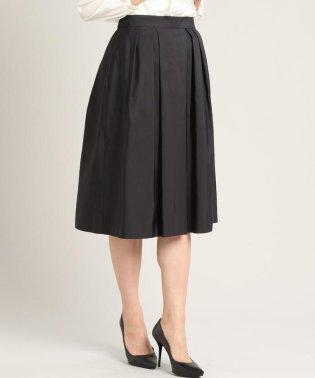 《大きいサイズ》タックフレアスカート