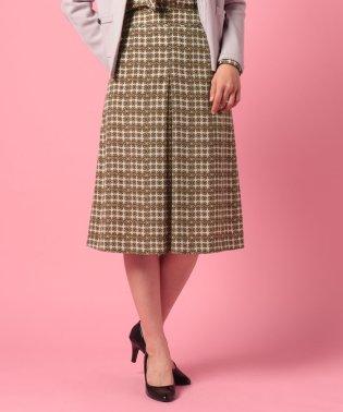 リングプリントスカート