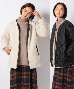 【Lugnoncure】ボアリバーシブルミドル丈コート