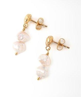 【Holly Ryan/ホリー ライアン】 Meteor Pearl Mini Drop Earring:ピアス