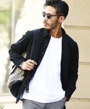 長袖無地レギュラーカラーネルシャツ / 長袖シャツ メンズ カジュアルシャツ ネルシャツ 長袖 シャツ レギュラーカラー