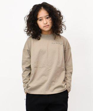 リメイク風ビッグ長袖Tシャツ