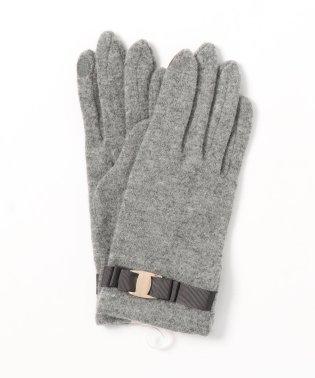 リボンベルト付き手袋(スマホ対応)