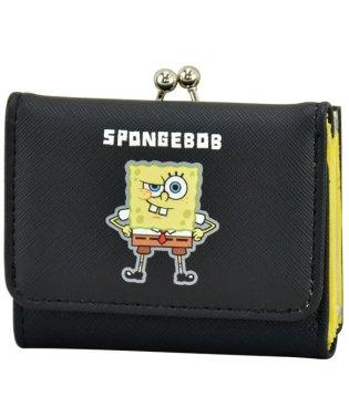 スポンジ・ボブ Sponge Bob 三つ折り財布 BKスポンジ・ボブ 合皮