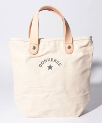 CV_CANVAS LEATHER TOTE BAG