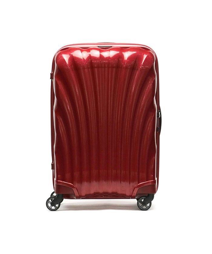(Samsonite/サムソナイト)【日本正規品】サムソナイト スーツケース Samsonite Cosmolite Spinner 69 TSAロック 68L 5〜6泊 V22−306/ユニセックス レッド