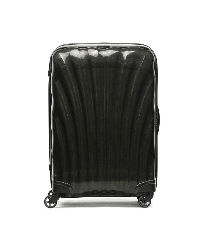 (Samsonite/サムソナイト)【正規品10年保証】サムソナイト スーツケース Samsonite Cosmolite コスモライト Spinner 75 94L 10〜14泊 V22−304/ユニセックス ブラック