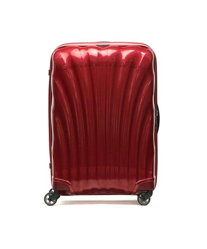 (Samsonite/サムソナイト)【正規品10年保証】サムソナイト スーツケース Samsonite Cosmolite コスモライト Spinner 75 94L 10〜14泊 V22−304/ユニセックス レッド